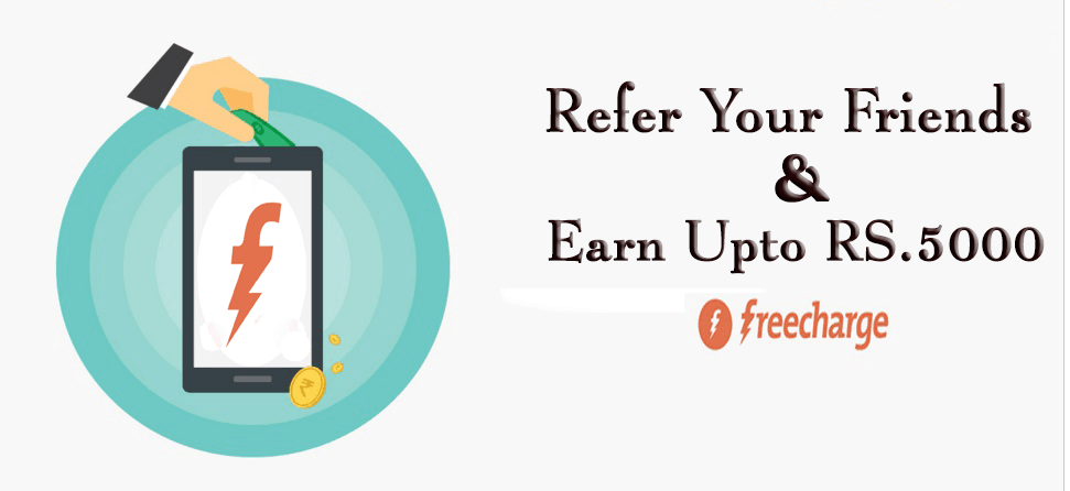 freecharge refer & earn cyber4geeks