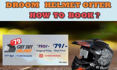 Droom helmet offer