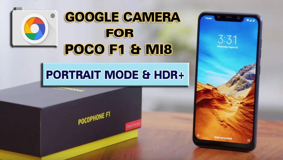 google camera for poco f1