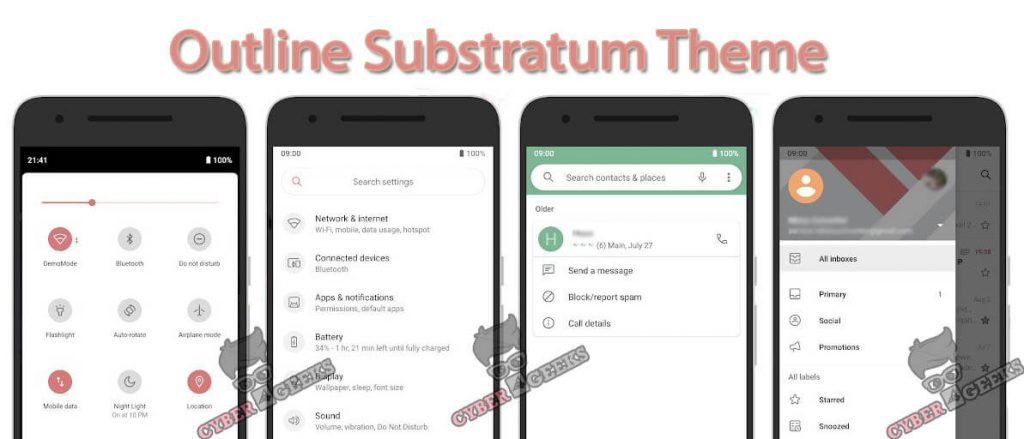 Outline Substratum Theme Paid Download