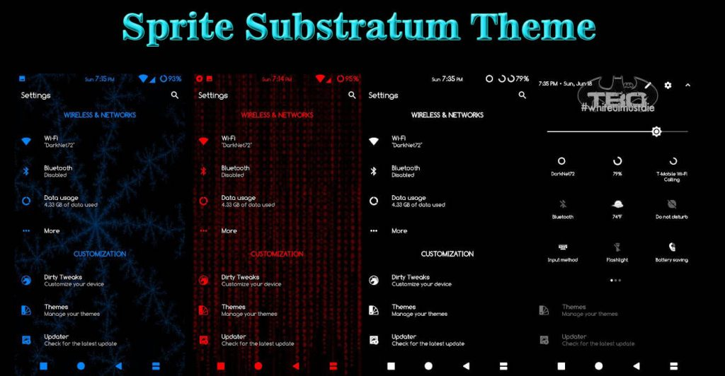 BEST Substratum Themes -Sprite