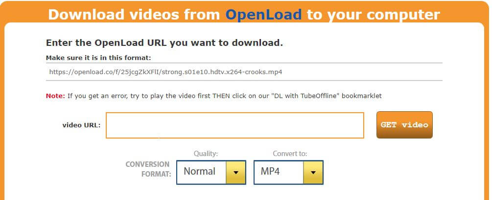 how to download openload videos
