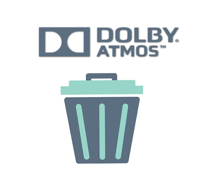 How to Uninstall Dolby Atmos