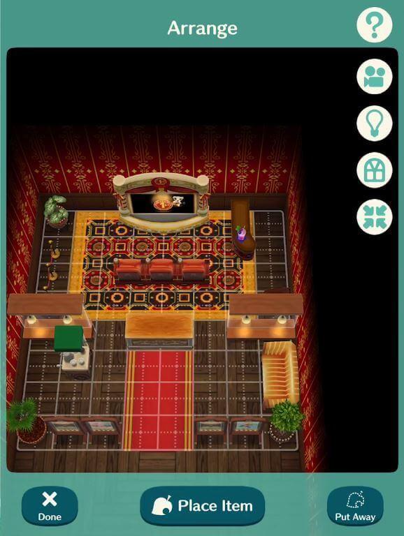 Animal Crossing  Pocket Camp - Arrange