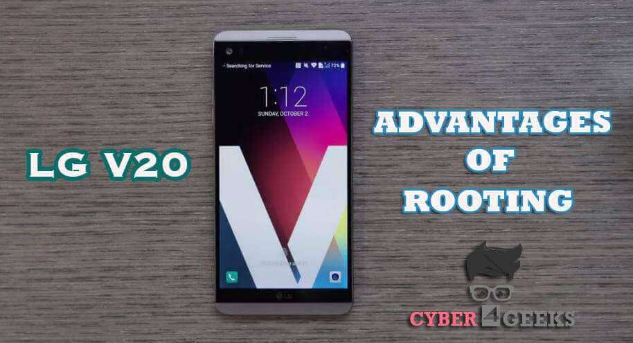 lg v20 root - Advantages