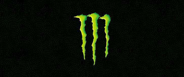 Monster Symbol ultrawide wallpaper
