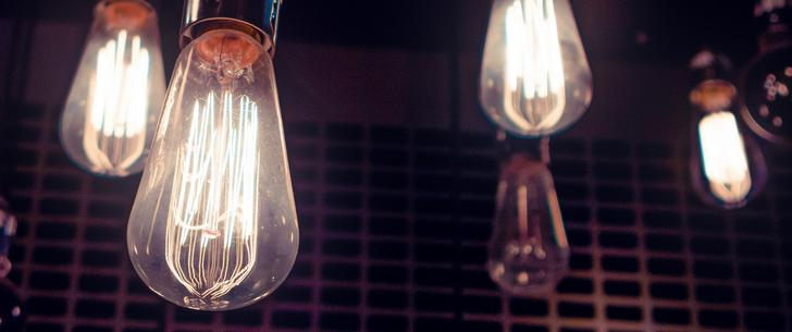 Filament Bulbs 3440 x 1440 wallpaper