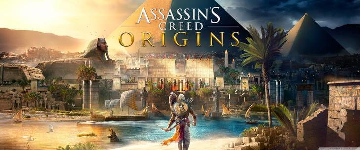 Assassin's Creed origins  3440×1440 Wallpaper