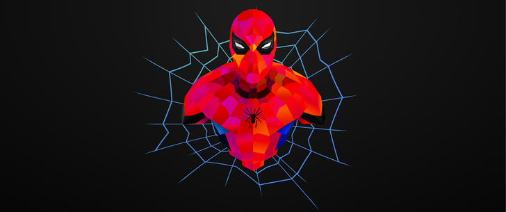Spiderman Avengers UHD Vector