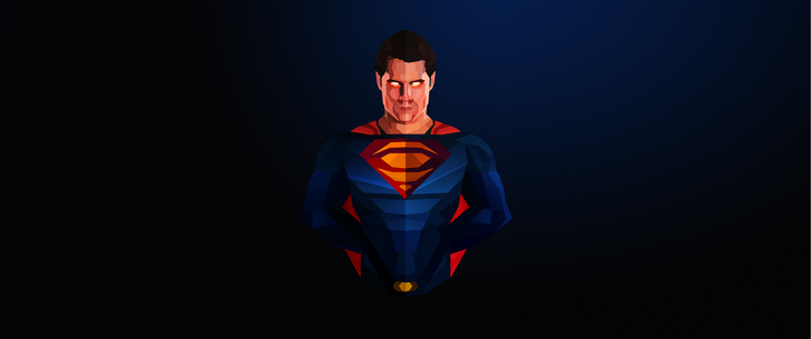 superman widescreen wallpaper