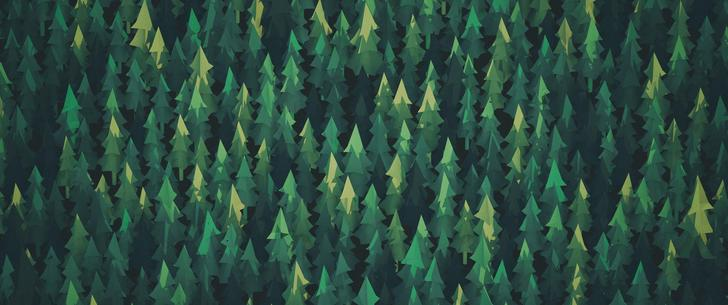 Trees Vector hd widescreen wallpaper