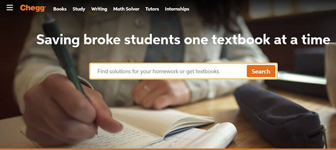 Chegg -  Homework Help  Rent Textbooks