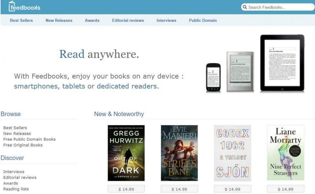 Feedbooks Digital Library