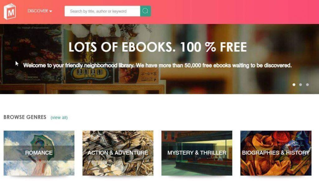Manybooks - Free Downloads