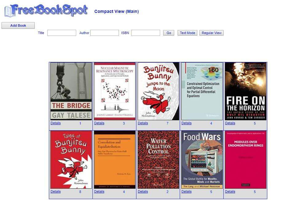 FreeBookSpot -Download e-books for free