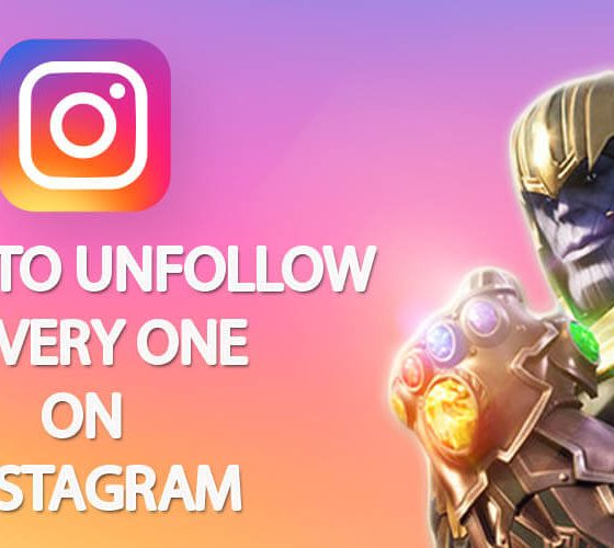 How to Unfollow Everyone on Instagram at Once