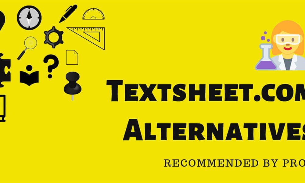 Best Textsheet Alternatives in 2021 - Recommended by PRO's