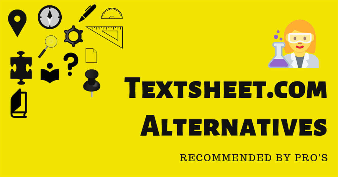 3 Best Textsheet Alternatives Recommended by PRO's [2019]