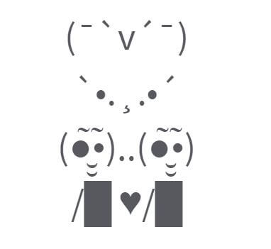 Love pair symbols status