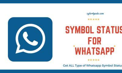 Symbols Status Whatsapp