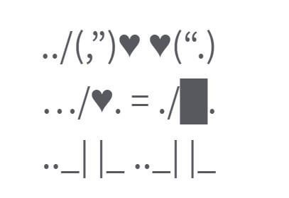Love Whatsapp status with symbols