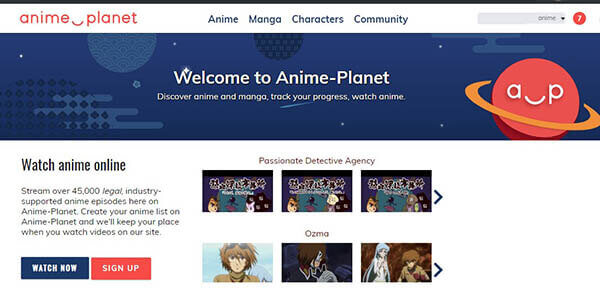 AnimePlanet - Best Anime Website