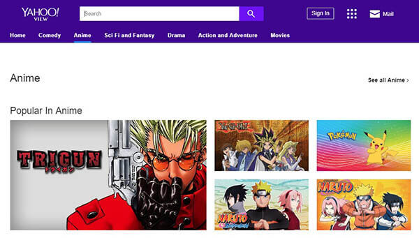 Yahoo View - Watch Anime Online